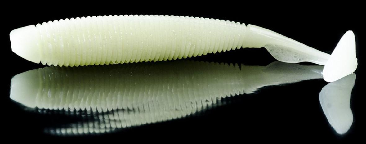 Voluminöser Gummifisch mit Riffeln