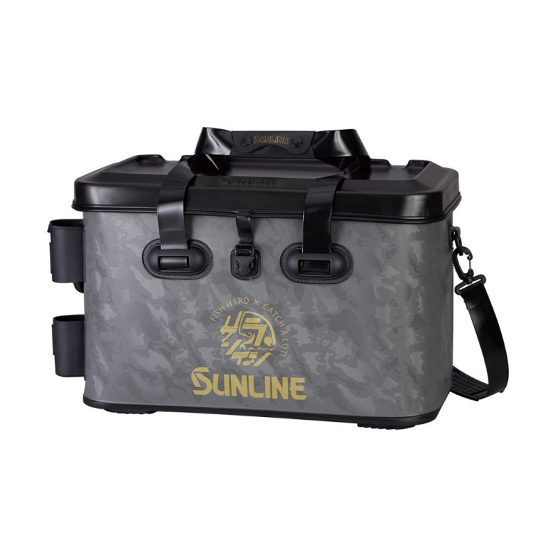 Sunline Tackle Bag Wide Charcoal