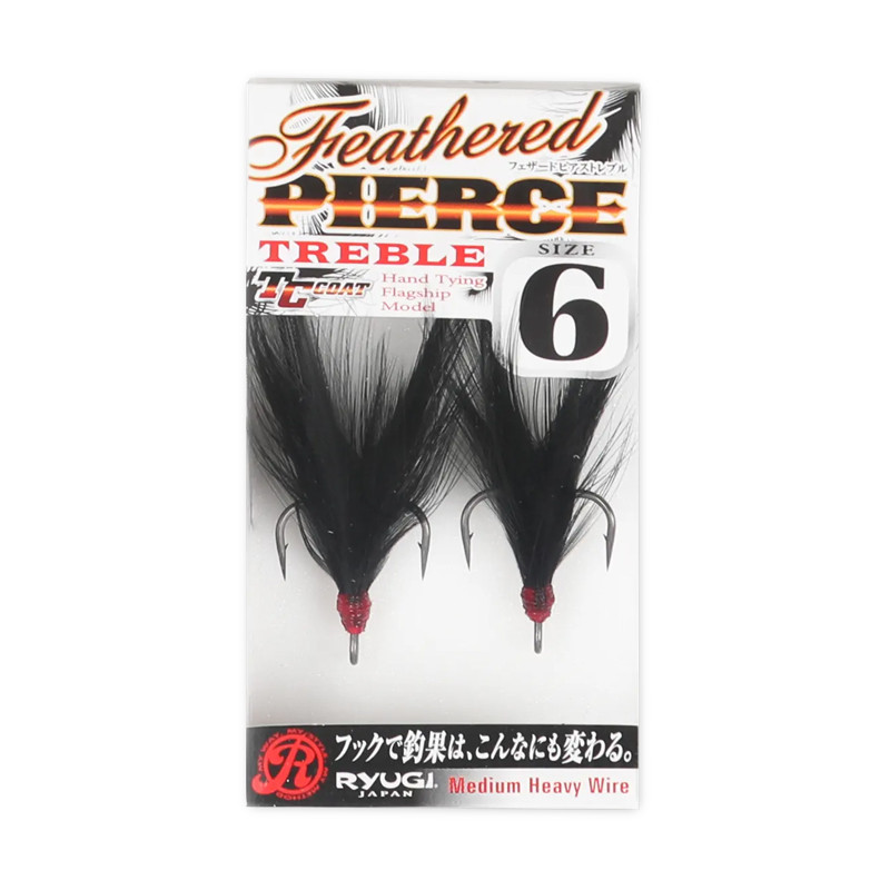 Ryugi Featherd Treble Hook